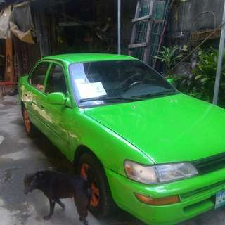 Toyota Corolla 1996 model