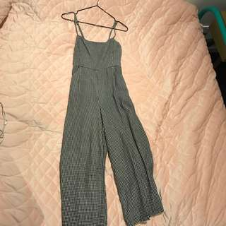 Glassons black and white jumpsuit