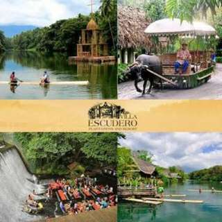 Villa Escudero Day Tour for 2 PAX