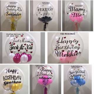 Celebration balloon, birthday balloon, hens night, bachelor party