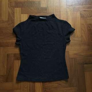 High neck tshirt