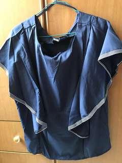 Blue Blouse top