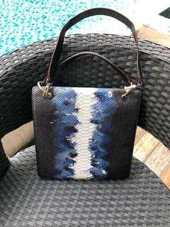 Customised leather lady's bag