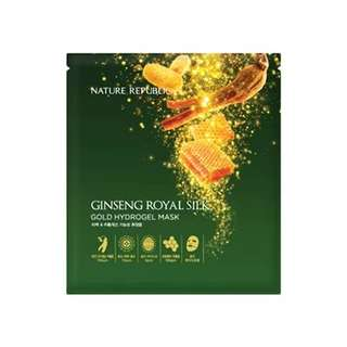 [NATURE REPUBLIC] Ginseng Royal Silk Gold Hydrogel Mask