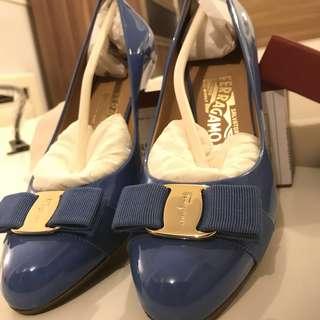 Ferragamo baby blue 100%  Brand New!