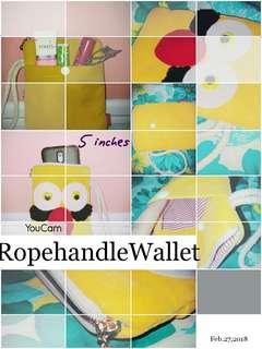 Rope Handle Wallet