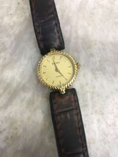 Authentic Rado Ladies Watch in Leather Bct