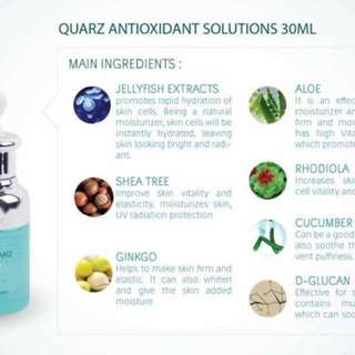 Quarz antioxidant solution