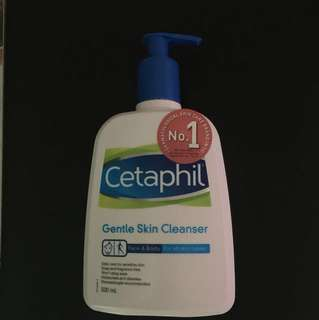 Cetaphil Gentle Skin Cleanser 500 ml Face & Body