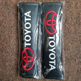 Toyota Carbon Fiber Safety Belt Cover