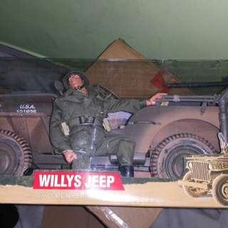 Gi joe 1/6 scale jeep