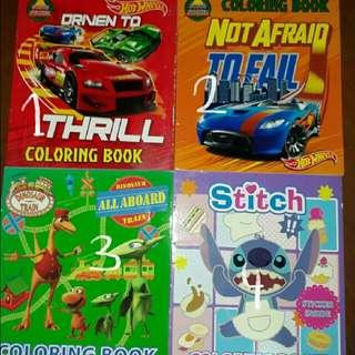 Buku Aktivitas Mewarnai Anak 3