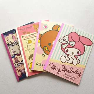 BN Sanrio Notebooks