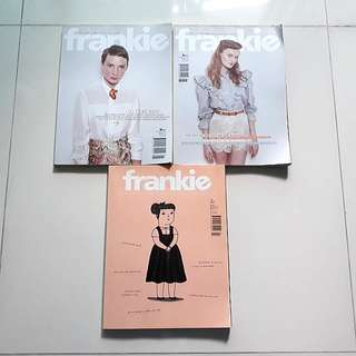 🎈SALE: Frankie Design Magazines