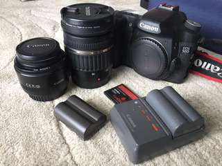Canon 50D Full Set