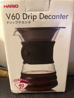 Hario V60 Drip Decanter Pour Over Coffee Maker 700ml 咖啡壺(自由出價)