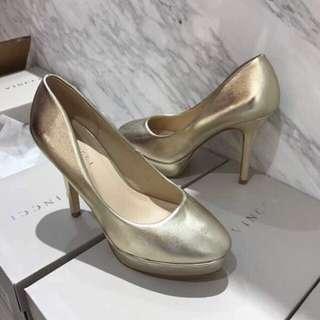 High Heels VNC Vincci Gold Size 41