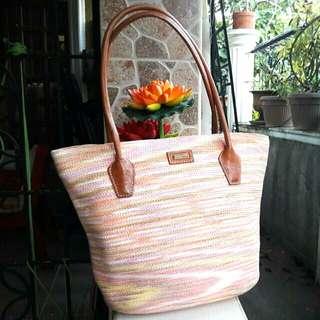 Repriced!Eric Javits Luxury Designer Hand/Shoulder Bag