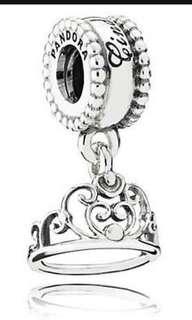 Pandora Crown cinderella Charm