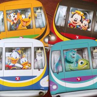 MTR_Disney車票