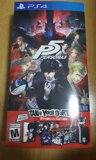 PS4 Game - Persona 5 Take Your Heart Premium Edition (R1)