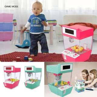 [PO195]Coin Operated Candy Grabber Balls Catcher Board Game Fun Toys