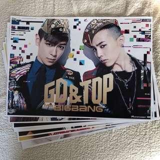 Bigbang Gd & Top poster x 7