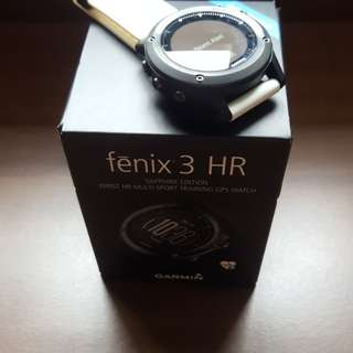 Garmin Fenix 3HR Sapphire