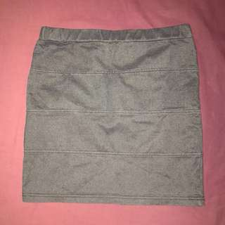 Denim Style Pencil Skirt