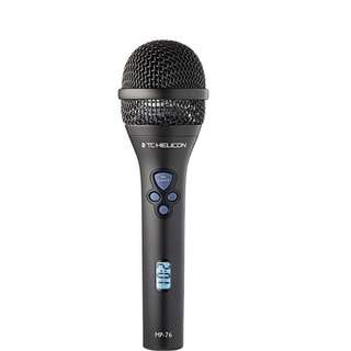 TC Helicon MP76 4-Button Control Dynamic Microphone