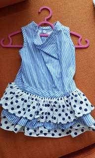 polka dress pet