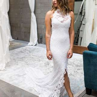 Grace loves lace Alexandra inspired wedding dress