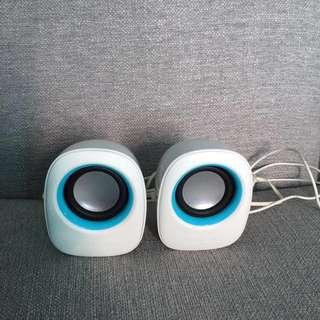 Sonigear Speakers (White)