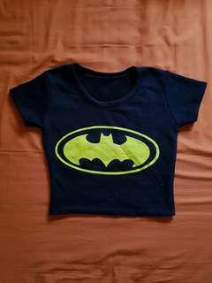 Batman Crop Top