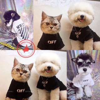 Pet offwhite T-shirt
