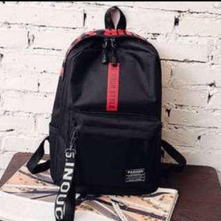 Latest Korea Design Backpack Black & Red
