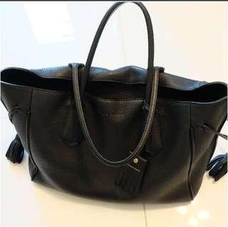 Longchamp Penelope Large Tote Black
