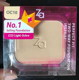 ZA Perfect Fit Two-way Foundation (REFILL)