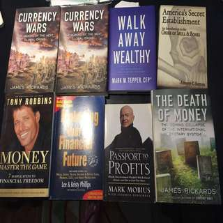 Business/investment related books