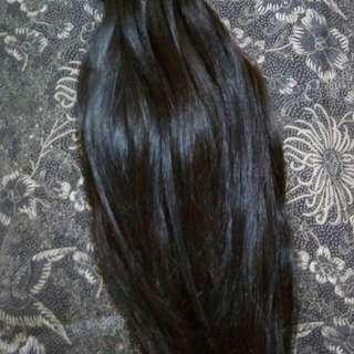 Sambung rambut asli tebal murah