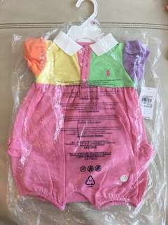Polo Ralph Lauren baby romper (new born to 9months)