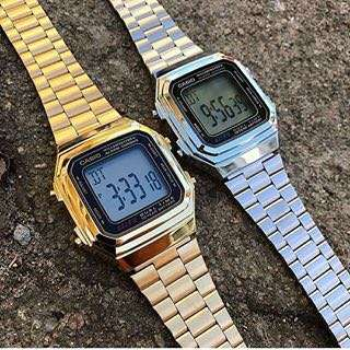 Casio Vintage Watch (silver only)