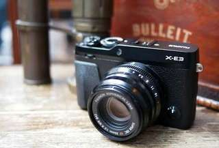 Fujifilm X-E3 Mirrorless Digital Camera With 18-55mm Kredit Kamera