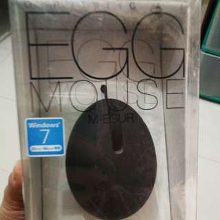 Usb EGG Mouse Black (M-EGUR)