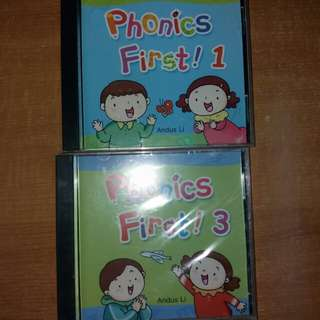 幼兒拼音 Phonics first 1 &  first 3 CD