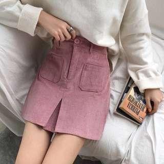 🚚 粉色裙