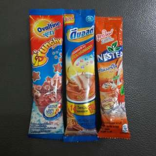 [NEW] Ovaltine Crunchy, Nestea Thai Tea & D Malt Milk