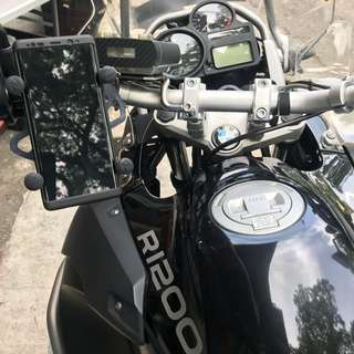 BMW R1200 Handphone Holder Mount Mobile Phone Mount XGrip