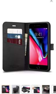 Spigen iPhone 8 Plus cover with wallet compartmen