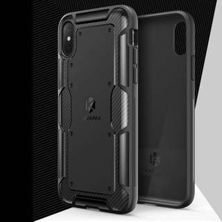 100% NEW iPhone X Shield Case 殼 套 Carbon Fibre 碳纖 USA